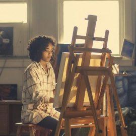 Vælg det rigtige lærred til dit maleri