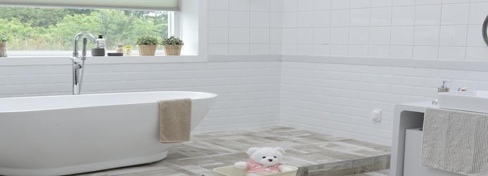 Badeværelsesindretning der giver mening og god atmosfære