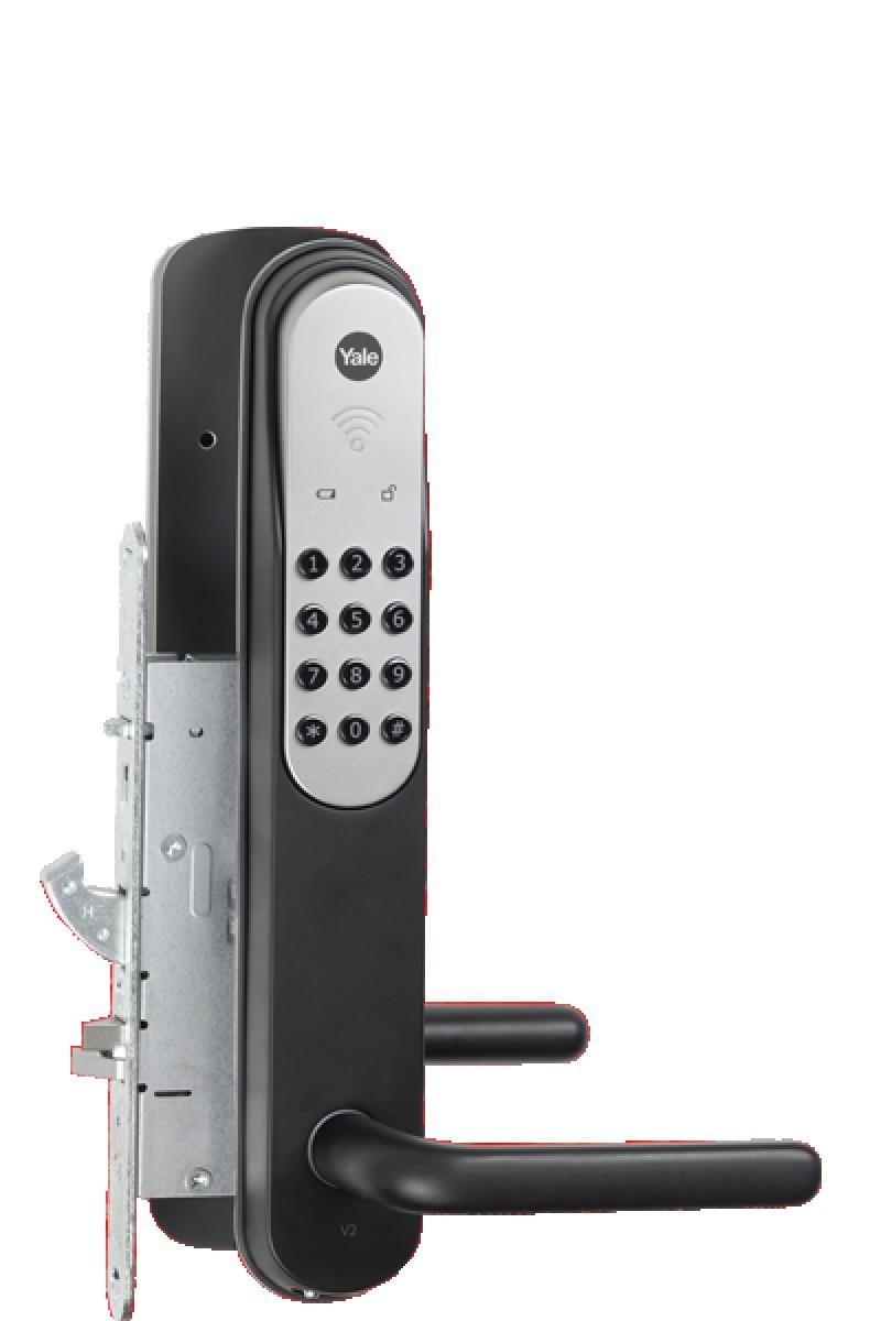 Yale Doorman er et sikkert og smart elektronisk låsesystem til dit hjem